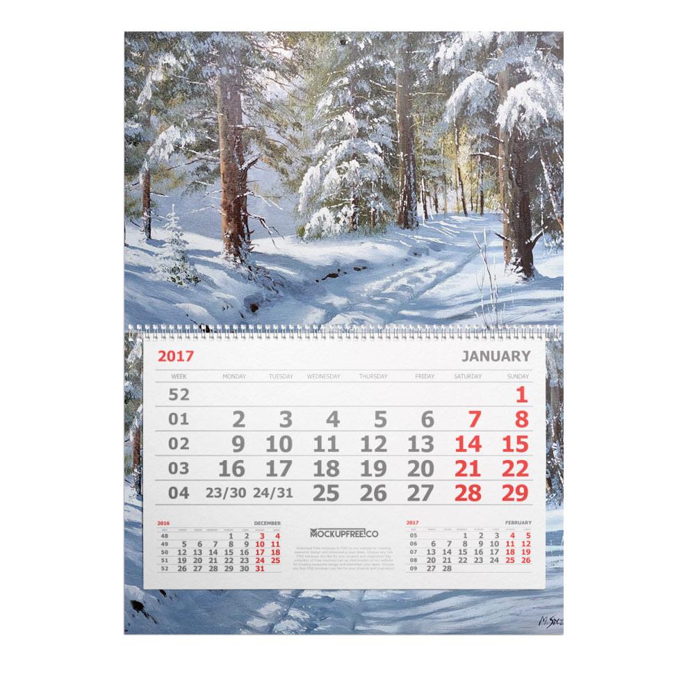 календари квартальные однопружинные и трехпружинные (минимальный тираж - 5 штук) в сроки от 2 до 3 дней;